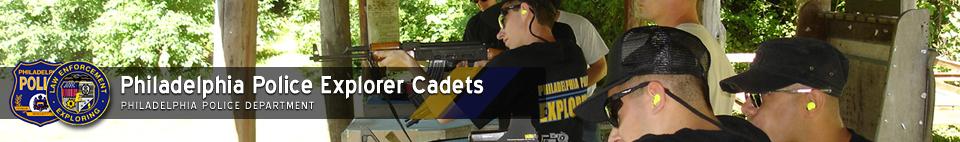 Philadelphia Police Explorer Cadets